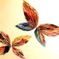 Метелики з гофрованого паперу своїми руками