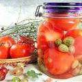 Консервування солоних і квашених овочів у скляній і металевій тарі