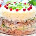 Цей курячий салат з грибами стане твоїм фаворитом на святковому столі. Вкуснейшая закуска!