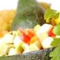 Салат з авокадо з креветками, рецепт салату на новий рік з фото