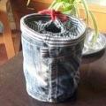 Подарунок своїми руками: як зшити стильну сумку-торбу зі старих джинсів