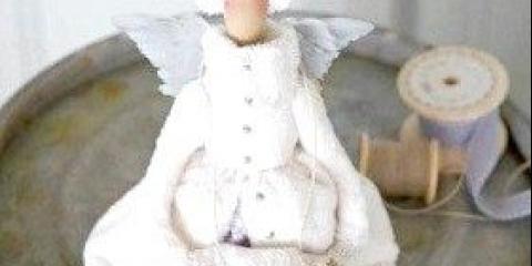 Ангел з тканини своїми руками - подаруйте своїм близьким казку
