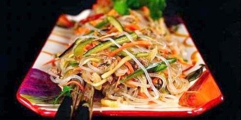 Фунчоза »: рецепт по-корейськи