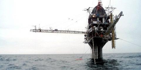 Дослідницьке судно rp flip може перевертатися з горизонтального у вертикальне положення
