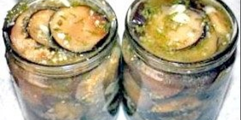 Як закрити салат з баклажанів на зиму з помідорами - фото рецепт
