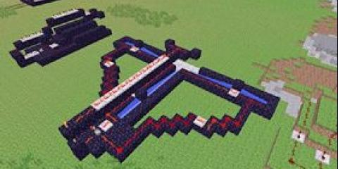 Як зробити гармату в minecraft?