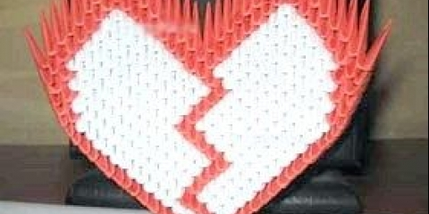 Як зробити серце з модулів