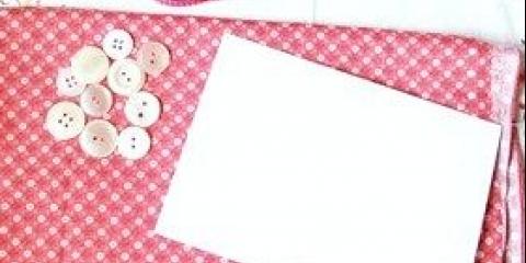 Новорічна листівка з гудзиків, фото