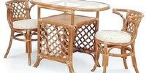 Плетені меблі з ротанга