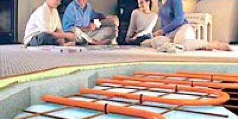 Тепла водяна підлога